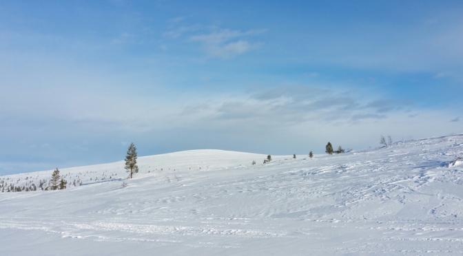 Kiilopää, Nord Est de la Laponie finlandaise, 19 mars