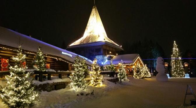 Rovaniemi, Napapiiri, cercle polaire, 13 mars