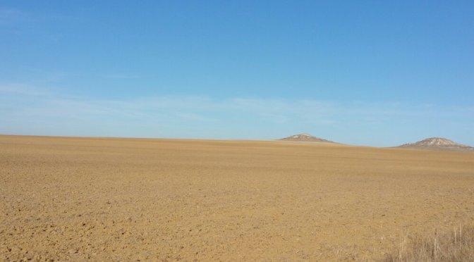 Mi-parcours dans le haut plateau, Burgos – León