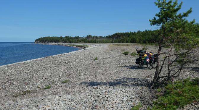 Les îles estoniennes, 13-21 août