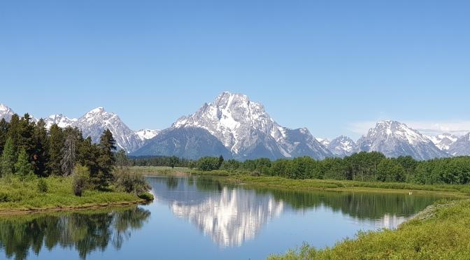 Départ pour le Nord: Bear lake, Jackson et Grand Teton National Park, 29 juin – 9 juillet