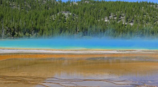 Yellowstone ou une semaine sur un couvercle de marmite à vapeur en surchauffe
